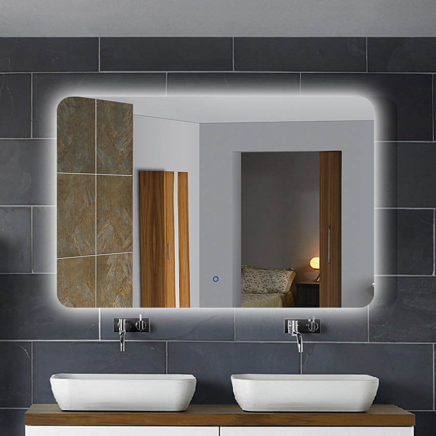 Bathroom Mirror With Glass Shelf Suppliers And Manufacturers At Alibaba