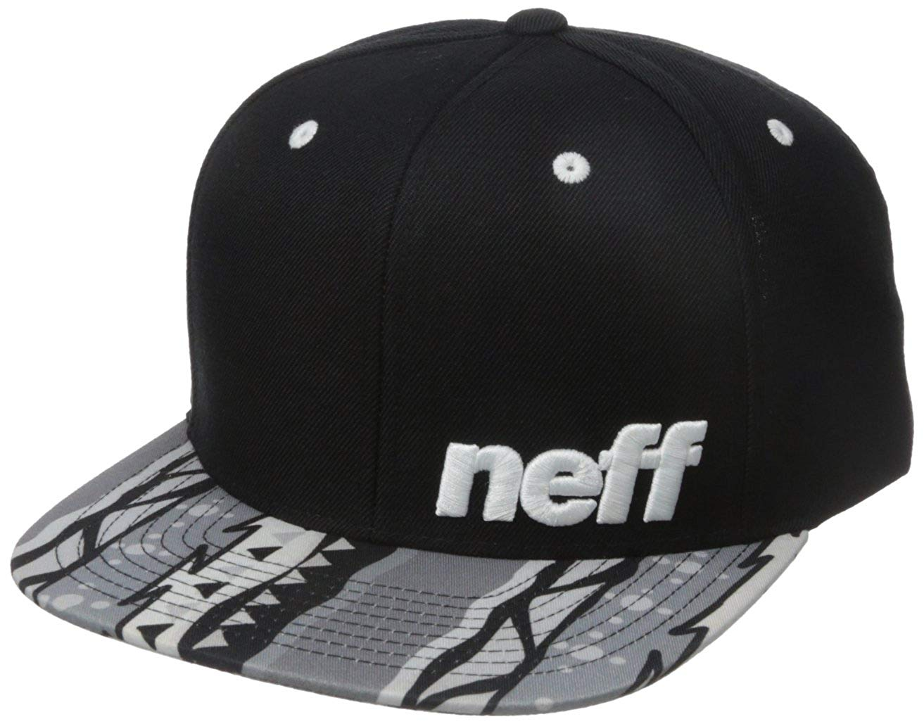 66d5bfb1494 Get Quotations · NEFF Daily Pattern Snapback Hats – Custom Fitted Hats    Baseball Caps – Adjustable Flat Bill