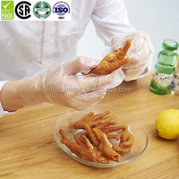 one time usage Disposable Safety PE Hand Plastic Glove