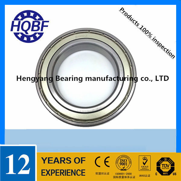 Hot Sale Discount Rich Stocks Off 70% Deep Groove Ball Bearing 19x35 Flanged Metric Radial Bearing 6318 ZZ 2RS 90*190*43mm