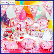 one year old wholesale birthday theme party decorations set for kids