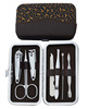 Hogift Log Print Beauty Manicure Set/Nail Clippers Cleaner/Nail care set