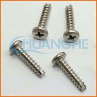 China Manufacturer 2015 new products associated anodised blue screws stainless steel self drilling screws