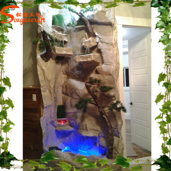Decorative Indoor Artificial Wall Waterfall Fountain - Buy Wall ...