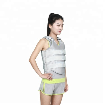 Lumbar back brace sports posture corrector support