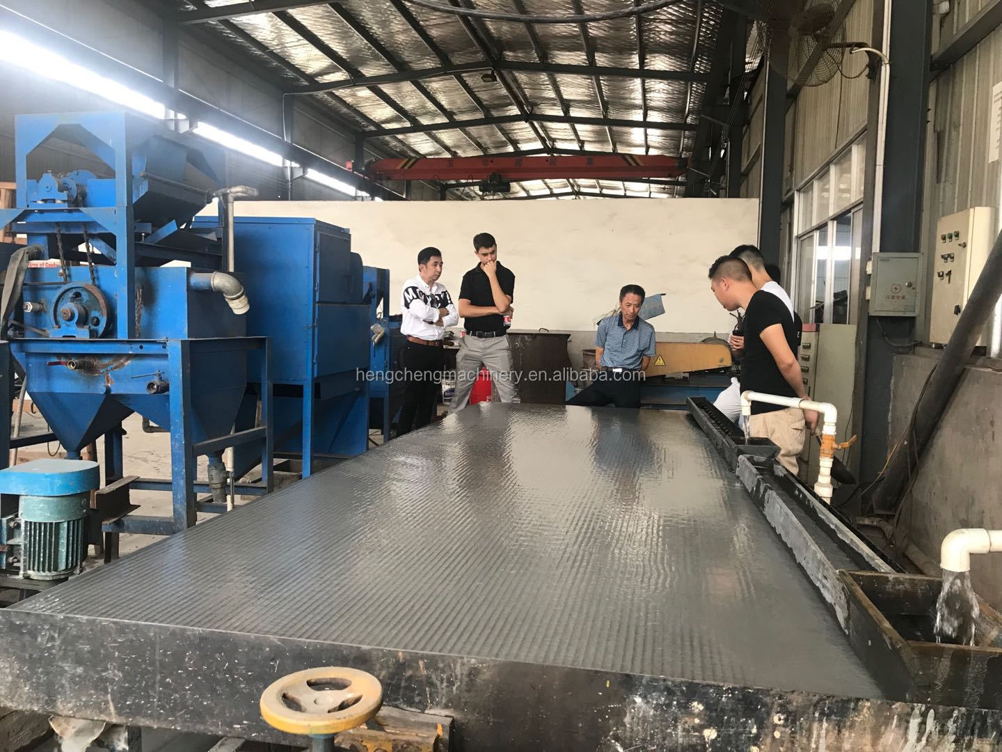 Gold extraction machine 6s gold shaking table