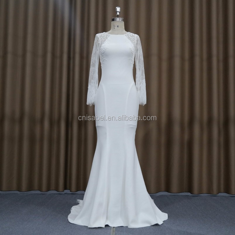 SW16658 Dress Medieval Ivory Spaghetti Strap Tops Women Low Cut Back Mermaid Design Sexy Wedding