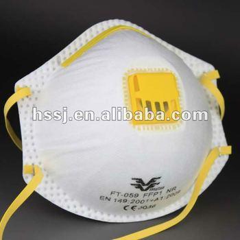 maschera antipolvere tessuto