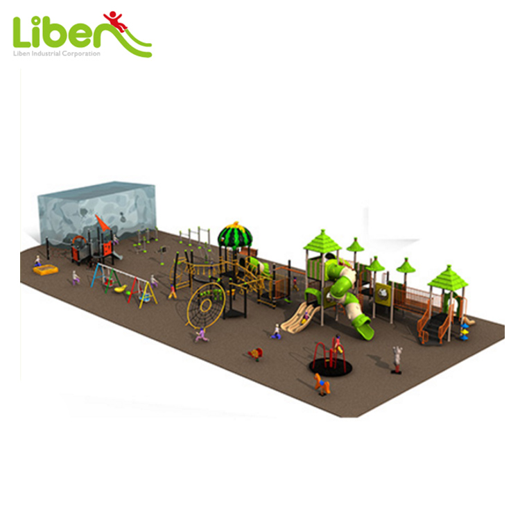 Biggest Residential Playground Equipments with Swings&Seasaws, fitness equipment, lots of Outdoor Playsets for Kids