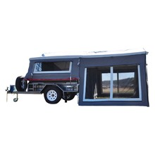 Best Off Road Camper Trailer With Stainless Steel Kitchen