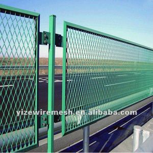 high-security Bridge expanded metal wire mesh fence