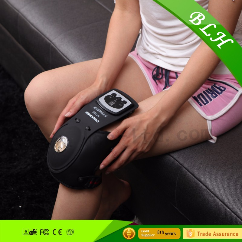 Electric vibration knee pain massager joint heating pads relieve muscle aches and easy to be carried portable