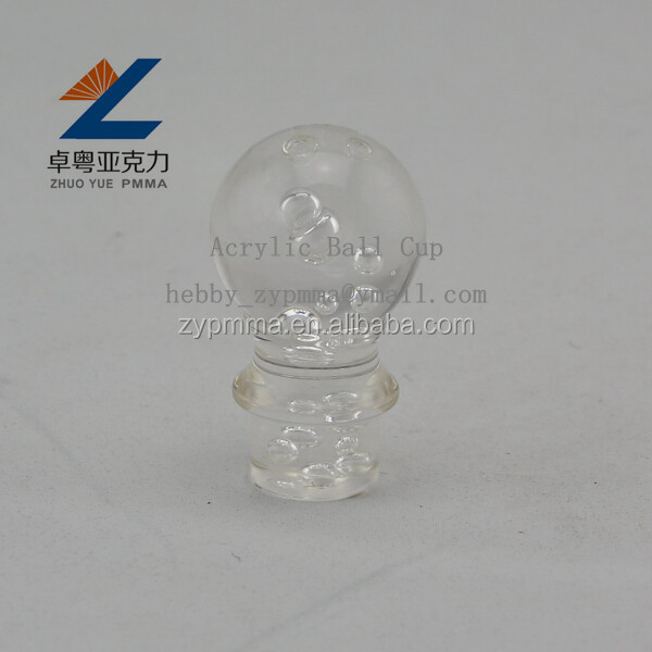 Clear Solid Sphere Acrylic Bubble Ball
