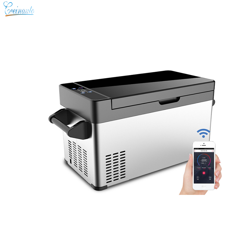 CeeinAuto 37L Capacity -25 Degree Portable Fridge Freezer 12V 220V Car Compressor Refrigerator 24V