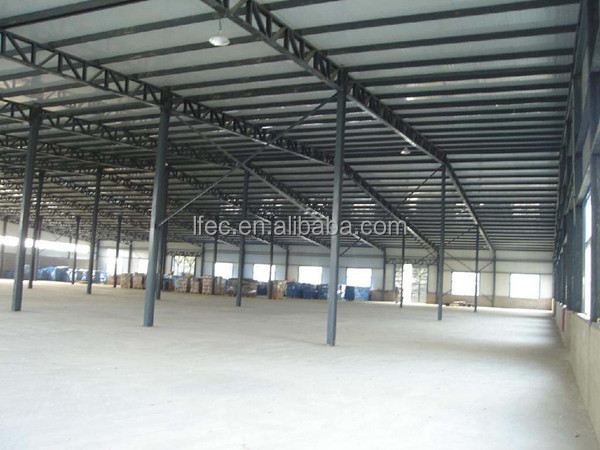 Wind Resistance Galvanized Steel Roof Beam for Building