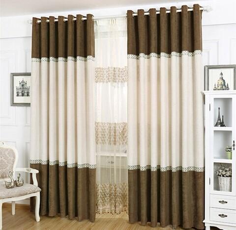 Guangzhou vendita calda tende per soggiorno moderno/modelli tende ...