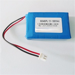 High performance 900mah 12v 503450 lipo 7.4v 2s lipo battery