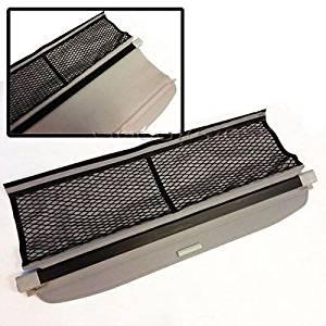 08-12 Smart Fortwo Rear Trunk Roll Grey Cargo Shielding Tonneau Cover PVC Net (CTC808)