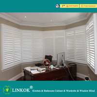 white plantation basswood window shutters