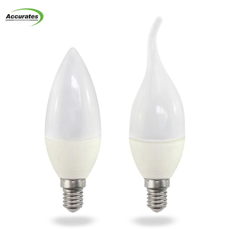 Hot sale high lumen for Europe and United States E14 5W led candle light flameless 2700K led candle light
