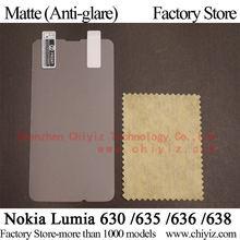 Matte Anti glare Frosted LCD Screen Protector Guard Cover Protective Film Shield For Nokia Lumia 630 635 / Nokia Lumia 636 638
