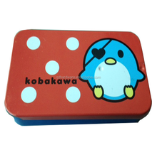Custom Design Slide Open Top Metal Pill Tin Box