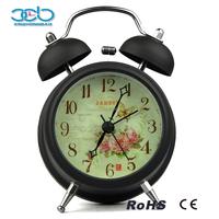 2016 Fashion Economic Metal Rose Alarm Clock