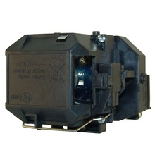 Free Shipping Yanuoda Replacement Projector Lamp ELPLP58 V13H010L58 for Epson EB W10 EB W9 EB X10
