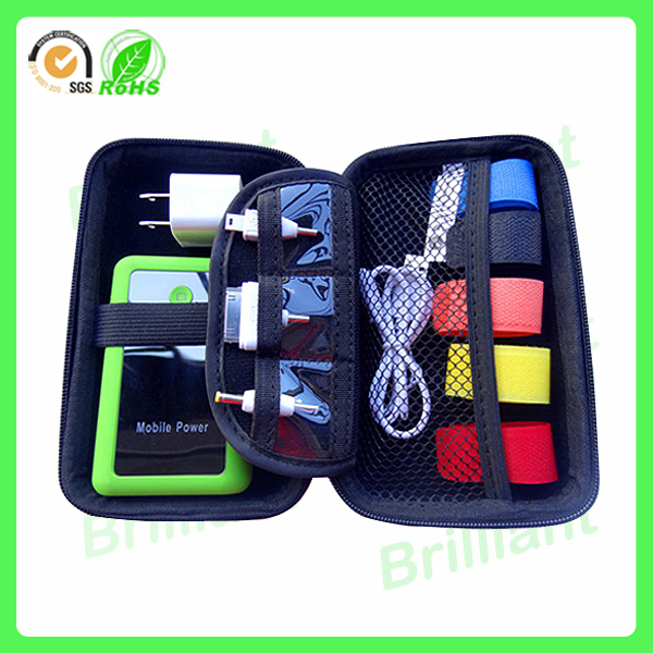 Waterproof Portable Electronic Accessories Travel Organizer Case/hard Drive Bag