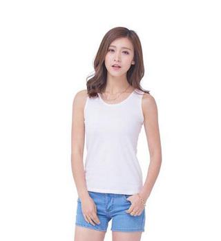 a93a29327613c wholesale plain white top compression vest bulk tank top gym cotton summer  women racerback tank tops