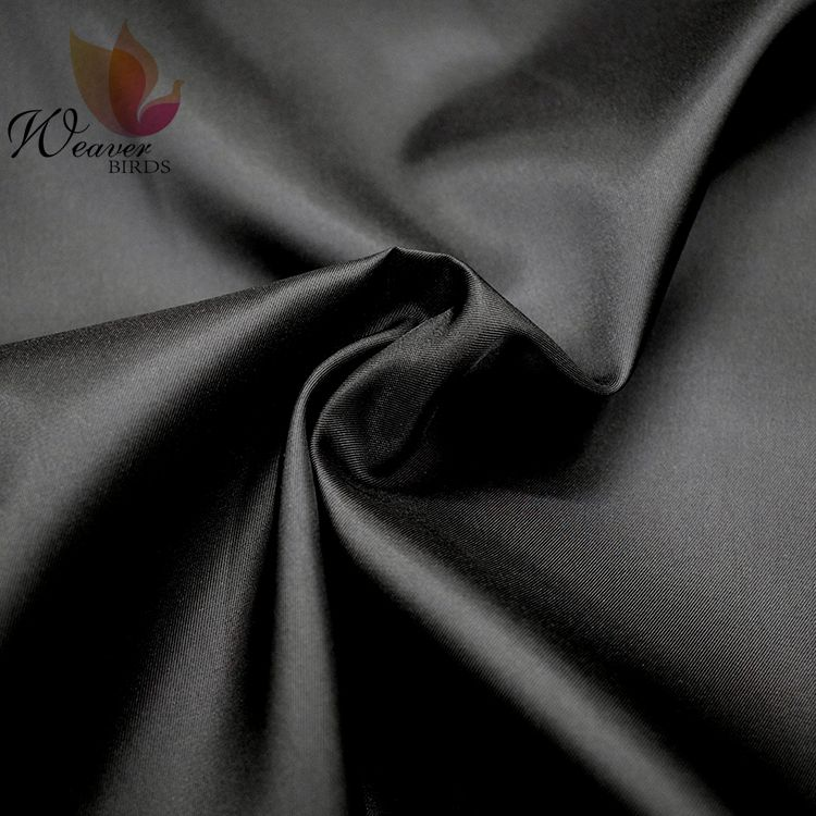 polyester twill taffeta lining fabric