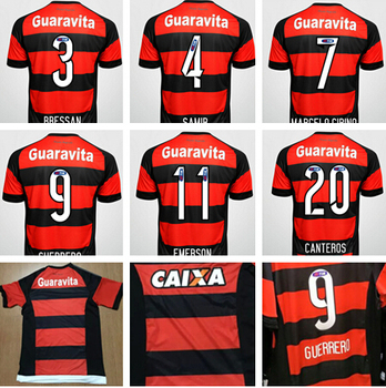 Outdoors Clothing Dealer  New Top Thai 15 16 Flamengo Home Soccer ... 2c14ddebf