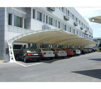 Modern Cantilever Car Parking Shade With Cheap Building Materials Buy High Quality Steel Structure Car Parking Shed Roof Design Steel Structure Car Parking Shed Roof Design China Prefab Steel Gauge Framing Villa Product