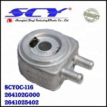 Genuine Engine Oil Cooler For Hyundai Kia Hyundai Sonata OEM 26410-2G000  2641025402 26410-
