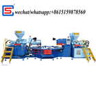 automaticthree color PVC/TPR upper injection moulding machine