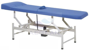 AG-ECC07 metal hospital medical mattress electric examination couch with pillow