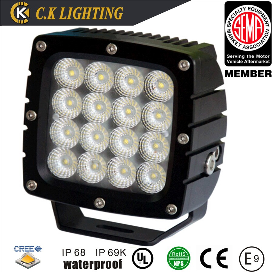 spot auto arch bent 12v led work light