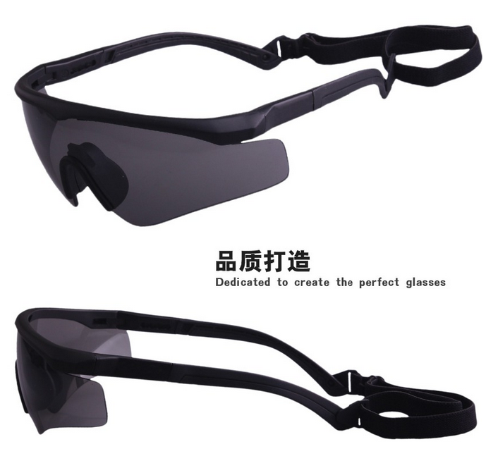 China Wholesale Outdoor Sport goggles CE Certificate Military tactical goggles