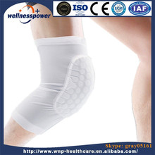 Best Selling Honeycomb Strech Compression Leg Sleeve Knee Brace