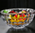 CBL-1008 Custom top quality sharp faceted K9 Crystal Ice Cream bowl Crystal Salad bowl Crystal Dessert Bowl