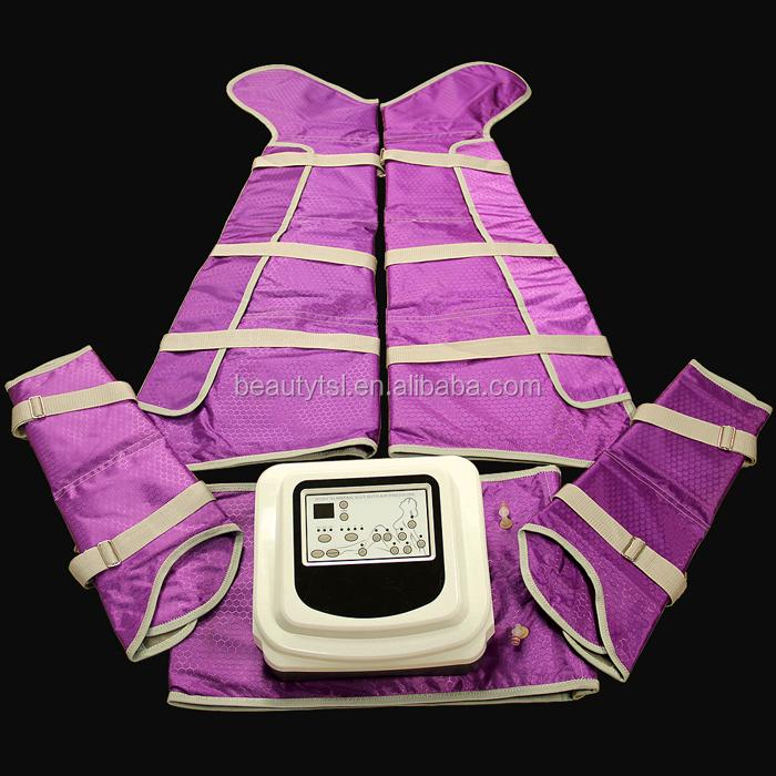 portable professional pressoterapia equipo body massage pressotherapy air pressure body slimming suit