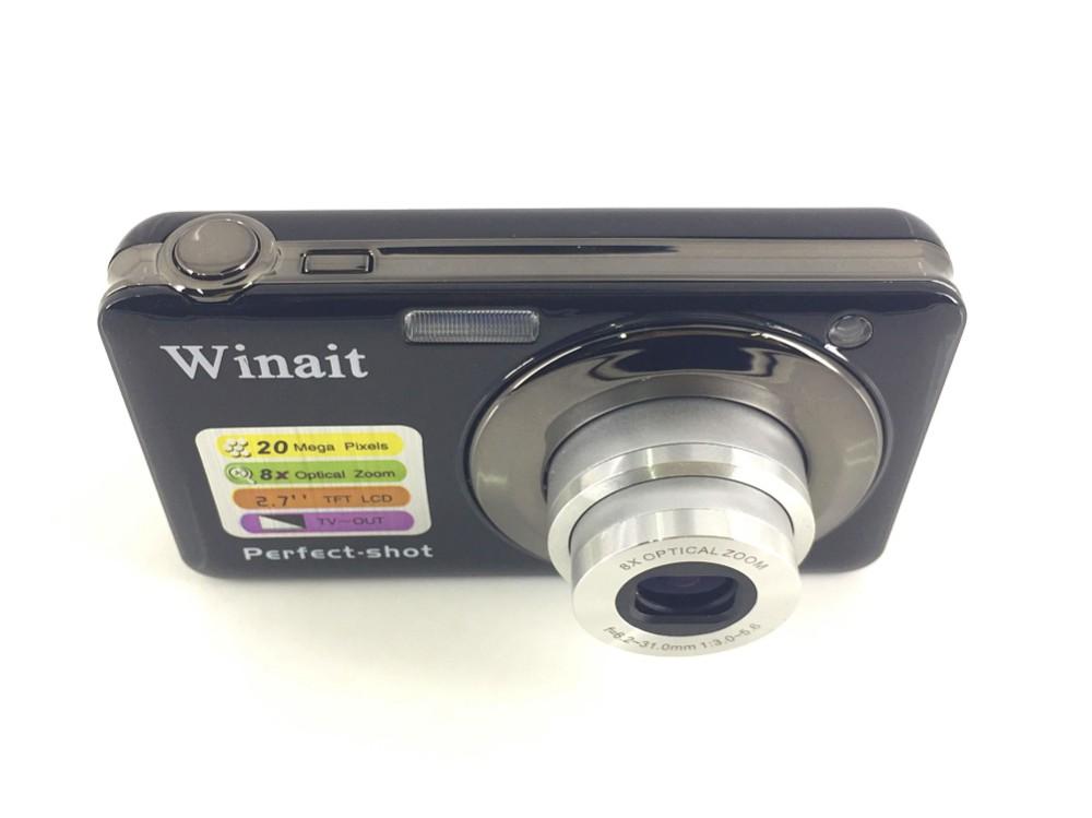 """OEM 20MP Mini Digital Camera HD 1280*720 8X Optical Zoom 2.7"""" TFT LCD Display"""