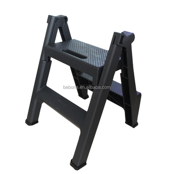 plastic folding step stool step ladder for kitchen garden 2 step folding  ladder, View step ladder, BEBONE OR OEM Product Details from Taizhou Bebone