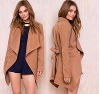 C89436A OEM Women Winter Woolen Cashmere coats