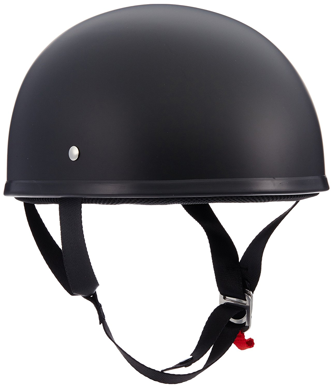 Get Quotations · LS2 Helmets Stripper Unisex-Adult Half Helmet Motorcycle  Helmet (Matte Black, Large)