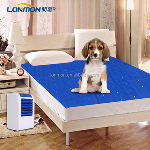 PVC mattress air conditioning fan with cool summer pad 160cm*140cm pet ice mat