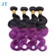 high quality factory price brazilian indian mixed color body wave hair weave