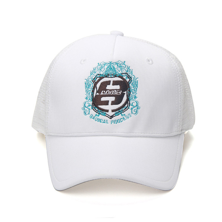 Hot  2015 Brand New Fahion Summer Style Trucker Cap Mesh Quick Dry Baseball Cap Men Women Adjustable Gorras White Free Shipping