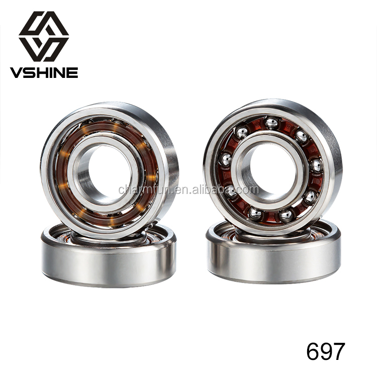 697 fidget spinner <strong>bearing</strong> Ceramic better than R188 <strong>Bearing</strong> 608 ball <strong>bearing</strong> perfect for Fidget Toy