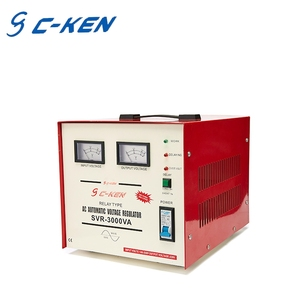 High Quality SVC Single Phase 3000va AC Auto Voltage Regulator, 220v Home Automatic Voltage Stabilizers